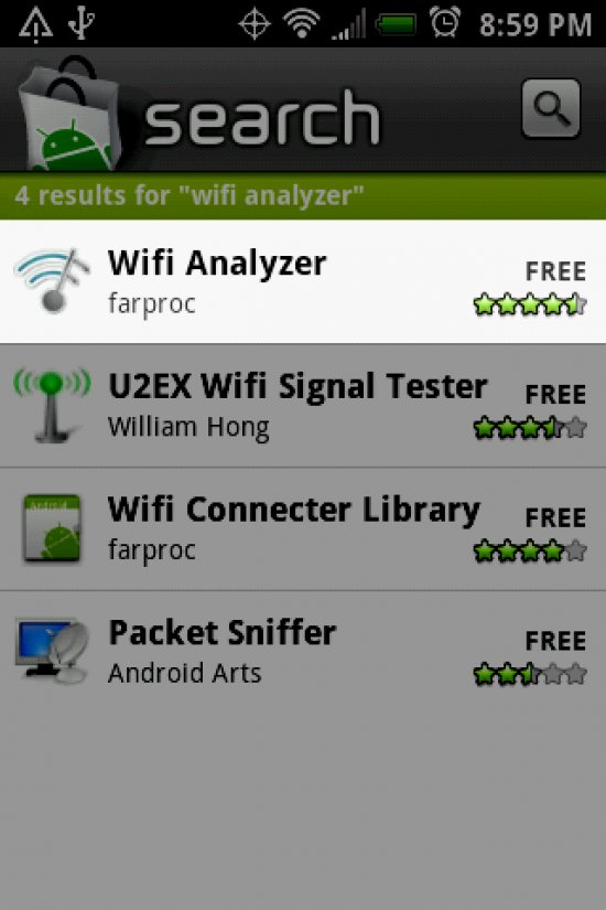 Wifi Analyzer: See the signals... set your channel ...